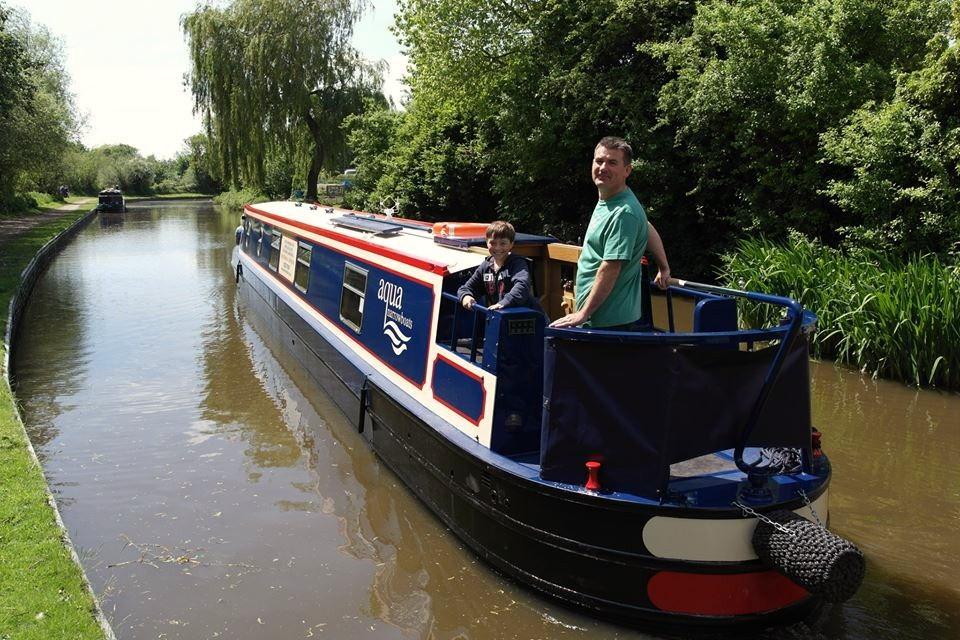 Narrowboat Sponsorship Canal Boat Sponsorship Aqua Narrowboats