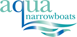 Aqua Narrow Boats Mobile Retina Logo